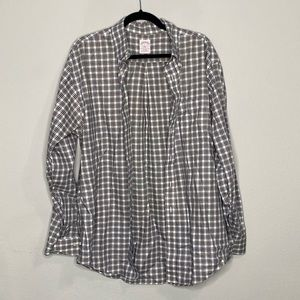 Brooks Brothers Plaid Button Down Dress Shirt